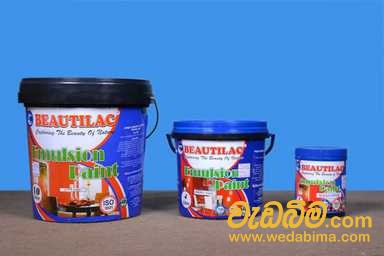 Beautilac emulsion paint