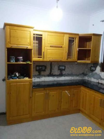 Pantry Cupboard Granite Work
