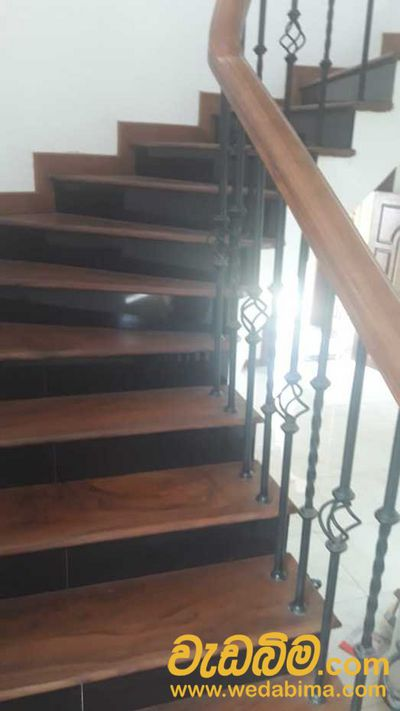 wood finishing Hand Railing