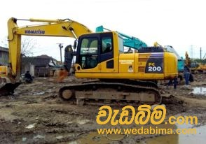 Cover image for Excavator for Rent - PC 200