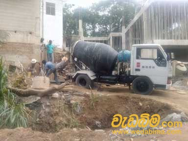Concrete truck for rent