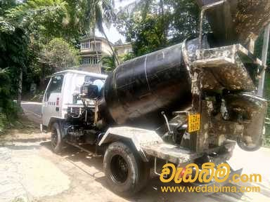 Concrete truck machine for rent