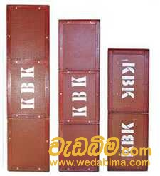 Steel Form work Plate For Rent