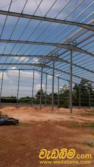 Steel Building Fabrication Work