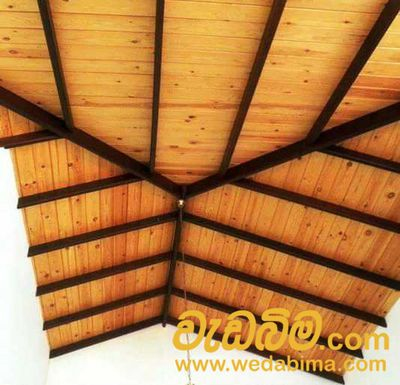 Wooden Ceiling work