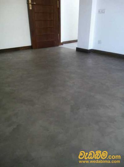 Floor Finished Titanium Work