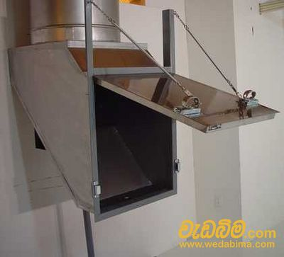 Linen &  Garbage Chute system