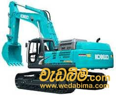 Cover image for 200 - Excavator machine Rent