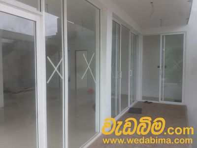 Aluminum Doors and Windows in Sri Lanka