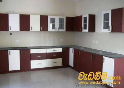 Aluminium Pantry cupboards in Colombo