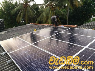 Solar panel in Sri Lanka